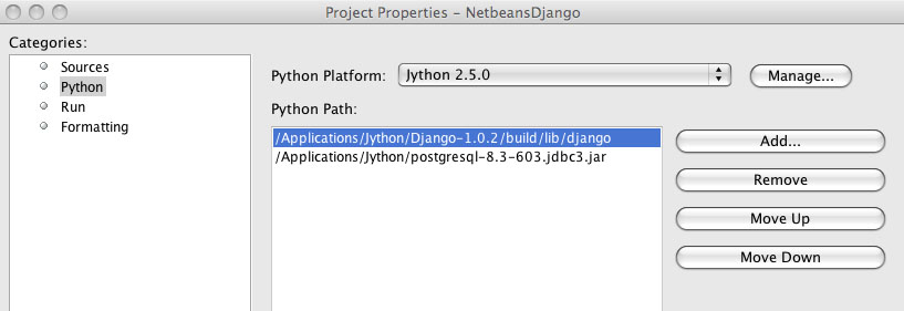 Chapter 11: Using Jython in an IDE — Definitive Guide to
